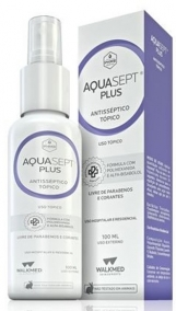 Solução Aquosa -  Walkmed - Aquasept Plus - 100ml