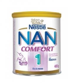 Leite Infantil - Nestlé - Nan Comfort 1 400g