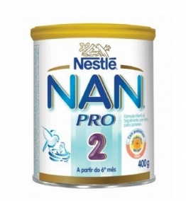 Leite Infantil - Nestlé - Nan Pro 2 400g