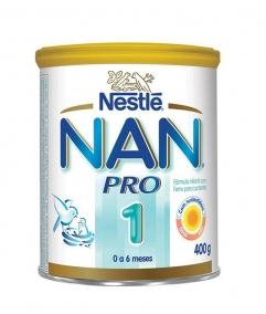 Leite Infantil - Nestlé - Nan Pro 1 400g
