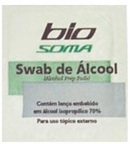 Swabs de Álcool - Hartmann - Biosoma - Para Assepsia da Pele