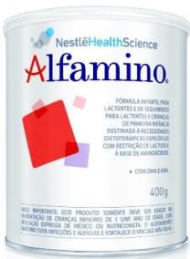 Leite Infantil - Nestlé - Alfamino - APLV Soja - 400g