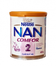 Leite Infantil - Nestlé - Nan Comfort 2 400g