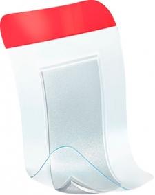 Curativo - Essity - Leukoplast Red Leukomed T Plus - Filme Transparente Ultrafino