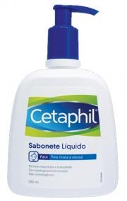 Sabonete Líquido - Cetaphil - Para Pele Mista e Oleosa 300ml