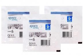 Kit - Curativo - Convatec - Aquacel AG Extra - Hidrofibra Absorvente Estéril - 5 unidades