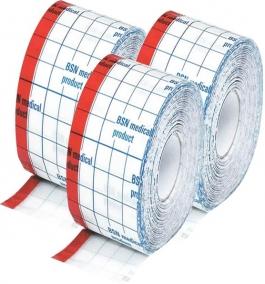 Kit - Curativo - Essity - Hypafix Transparent - Filme Transparente - Rolo - 3 unidades