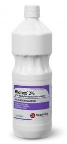 Antisséptico - Rioquímica - Riohex - Solução para Antissepsia - 1L