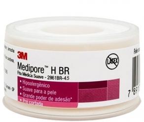Curativo - 3M - Medipore H - Fita Adesiva Suave - Sem Látex