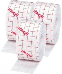Kit - Curativo - Essity - Hypafix Tecido - TNT Adesivo para Fixação - Rolo - 3 unidades